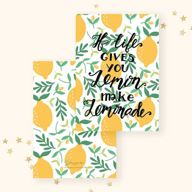 Lemonade Life Card Encouragement Cards YOUNIVERSE DESIGN