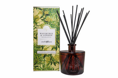 Lemongrass and Lemon Myrtle Reed Diffuser Diffusers Wavertree & London
