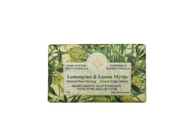 Lemongrass & Lemon Myrtle Soap Bar Soaps Wavertree & London