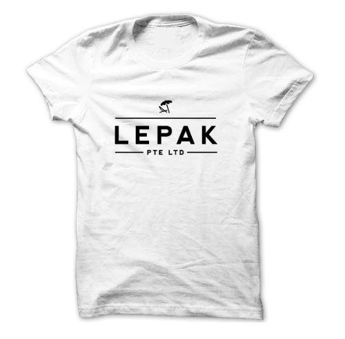 Lepak Pte Ltd T-Shirt - Local T-shirts - Statement - Naiise