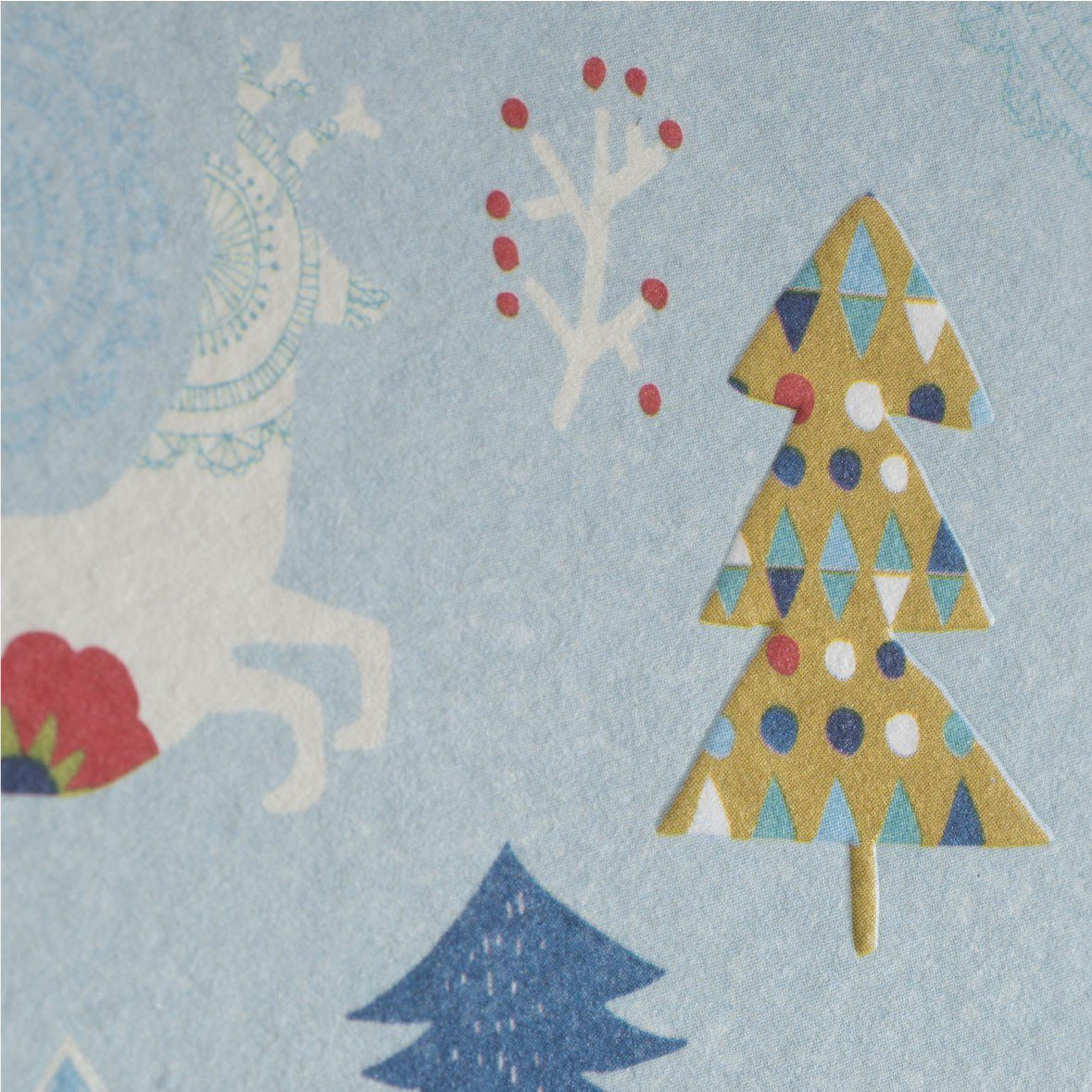 Let It Snow Greeting Card - Christmas Cards - MULTIFOLIA ATELIER di Rita Girola - Naiise