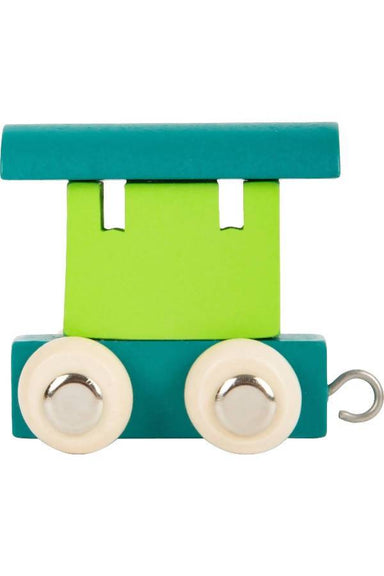 Letter Train Carriage - Green & Petrol - Kids Toys - The Children's Showcase - Naiise