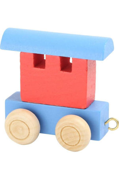 Letter Train Carriage - Red & Blue - Kids Toys - The Children's Showcase - Naiise