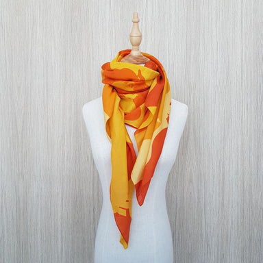Life at the Bay Silk Scarf Local Scarves Binary Style