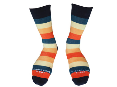 Life Is Wonderful Socks - Socks - Talking Toes - Naiise