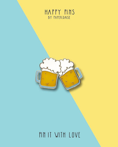 Life Without You UnBEERable Beer Enamel Pin - Pins - Paperdaise Accessories - Naiise