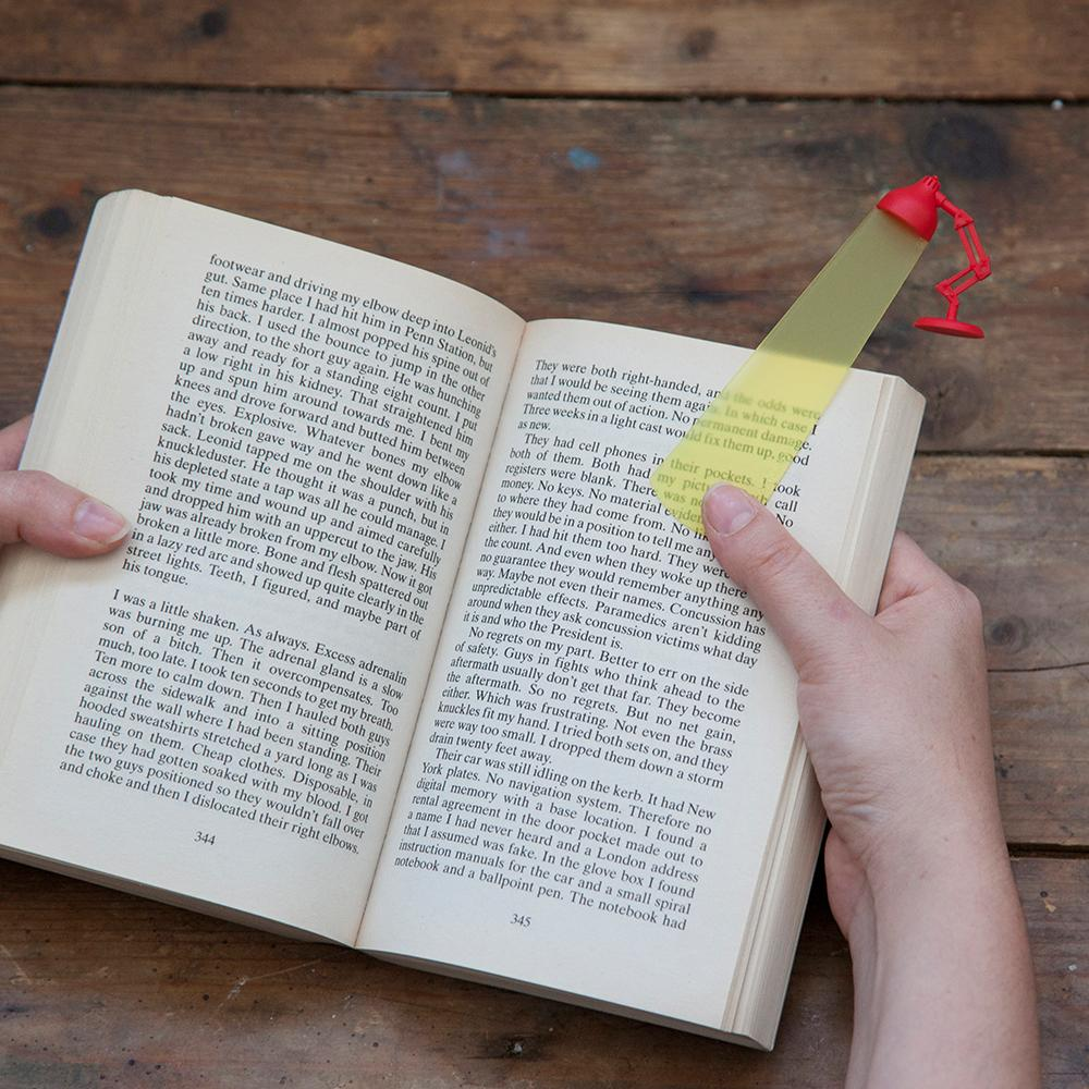 Lightmark Lamp Bookmark Bookmarks Peleg Design
