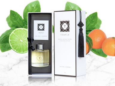 Lime Basil and Mandarin Diffuser - Diffusers - Temple Candles - Naiise