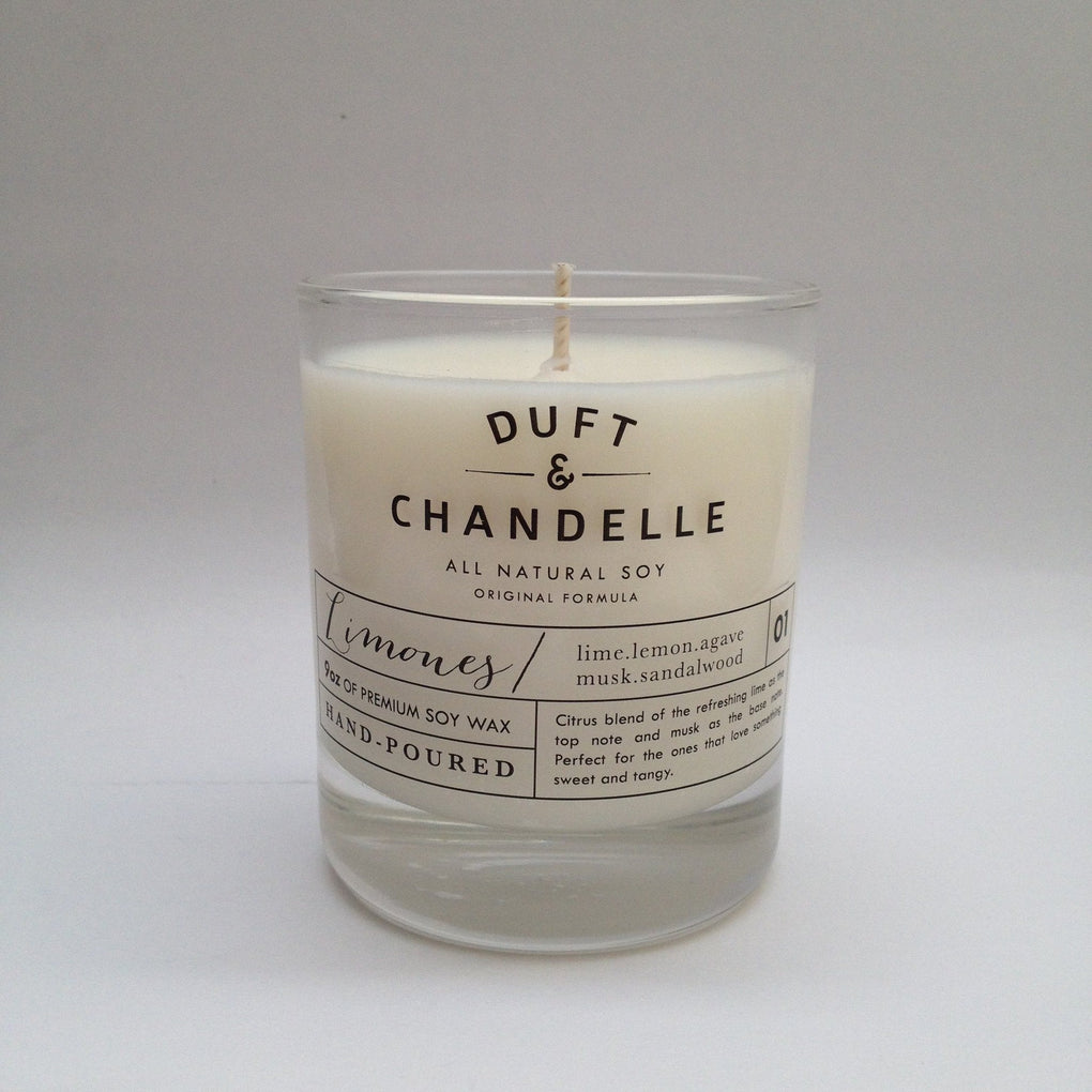 Limones Candle Scented Candles Duft and Chandelle