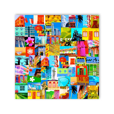 Lion City Wall Art - New Arrivals - MB Art - MemoryBoards - Naiise