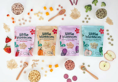 Little Blossom Organic Baby Puffs Bundle - Baby Food - Little Blossom - Naiise