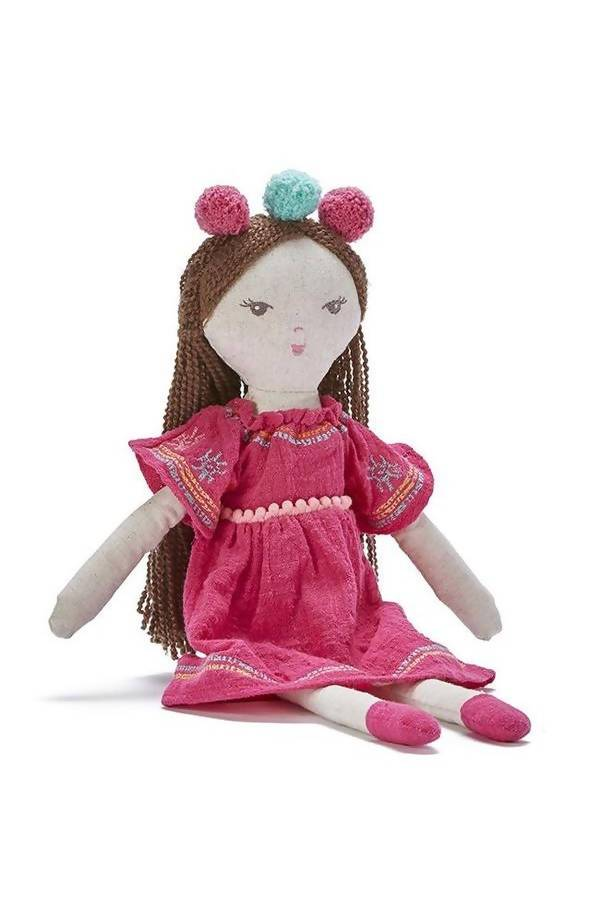 Little Miss Poppy-Pink Doll - Kids Toys - The Children's Showcase - Naiise