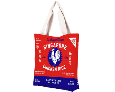 SG Sri Racha Chicken Rice City Tote - Local Tote Bags - Chalo - Naiise