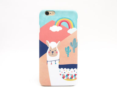 Llama Phone Case iPhone 7 - Phone Cases - Emaley - Naiise