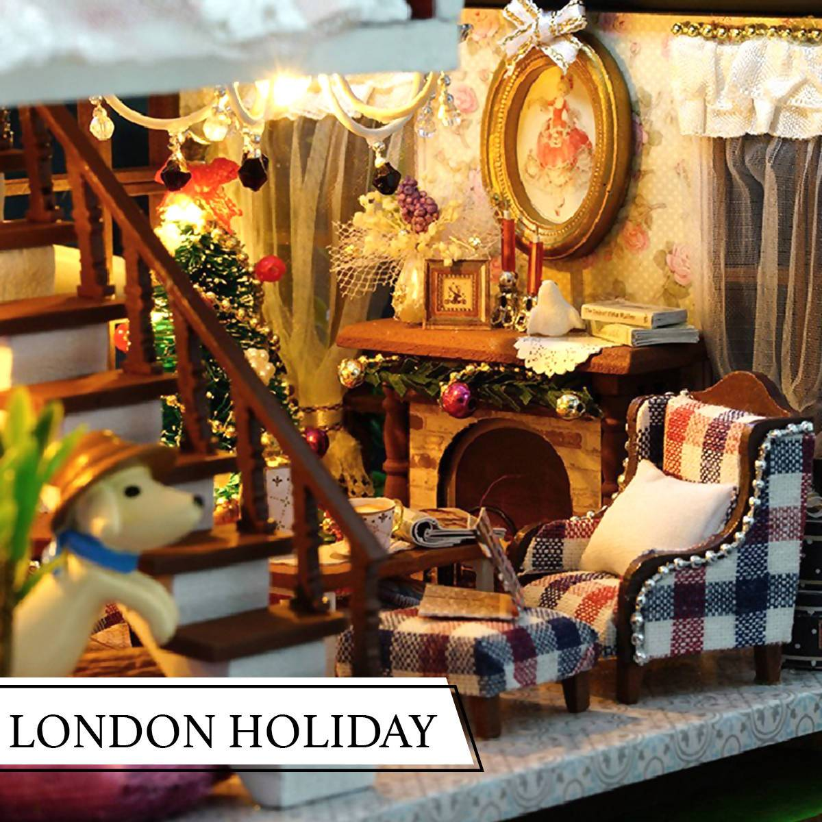 London Holiday Doll House - DIY Crafts - Blue Stone Craft - Naiise