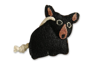 Loofah-Art Scrubber - Bear Cub Kitchen Cleaning Neis Haus
