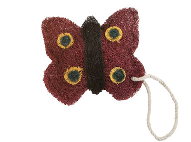 Loofah-Art Scrubber - Butterfly Kitchen Cleaning Neis Haus