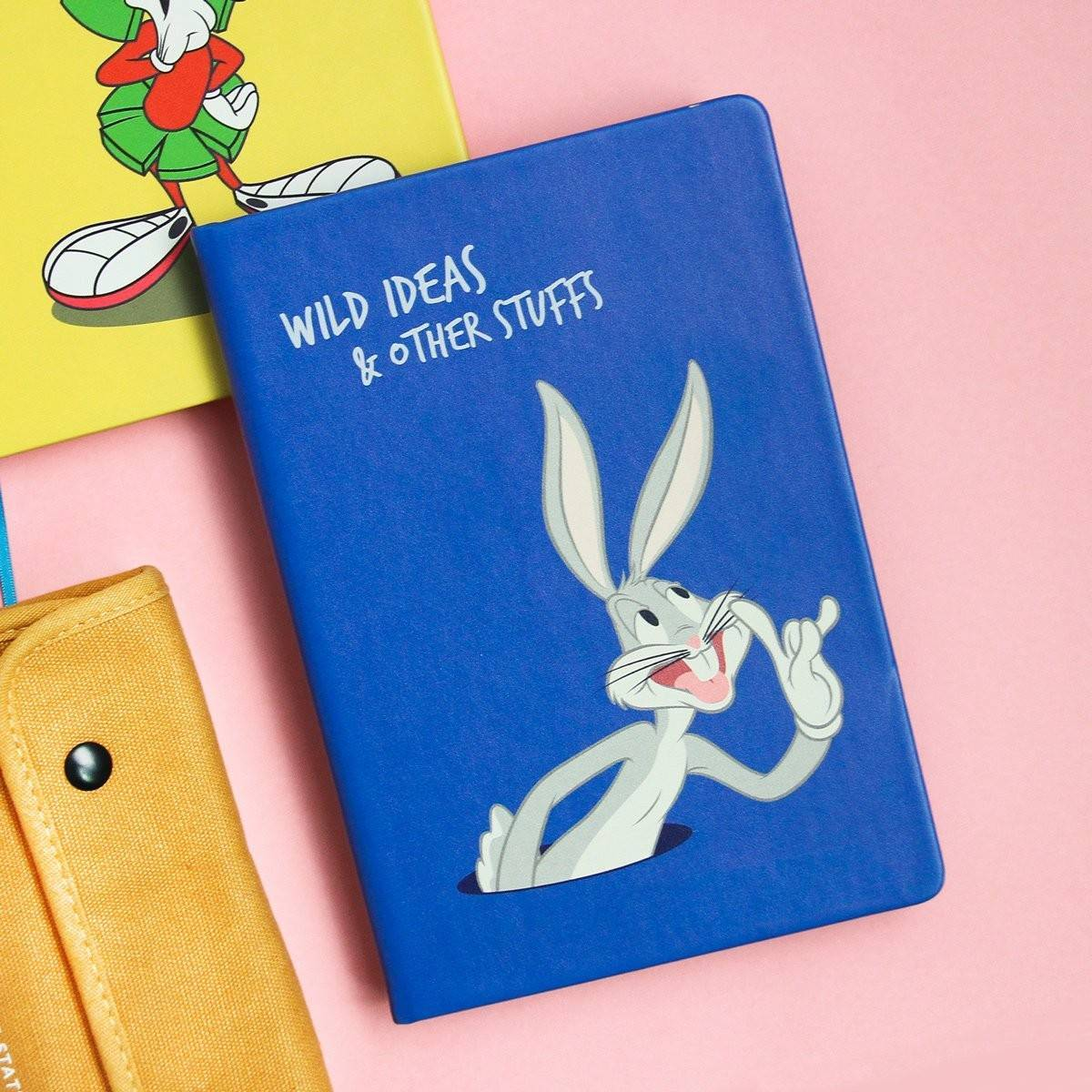 Looney Tunes Notebook: Bugs Wild Ideas - Notebooks - Ok Can Lah - Naiise