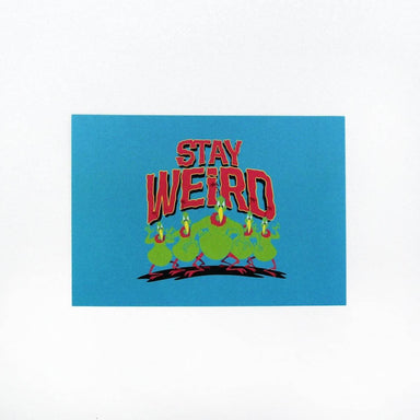 Looney Tunes Stay Weird Card - Postcards - Ok Can Lah - Naiise