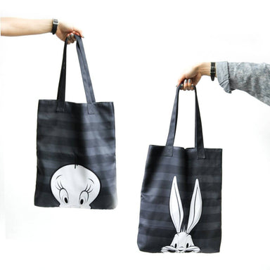 Looney Tunes Stripes Tote Bag - Tote Bags - Ok Can Lah - Naiise