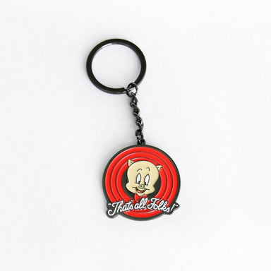 Looney Tunes Thats All Folks Keychain - Keychains - Ok Can Lah - Naiise