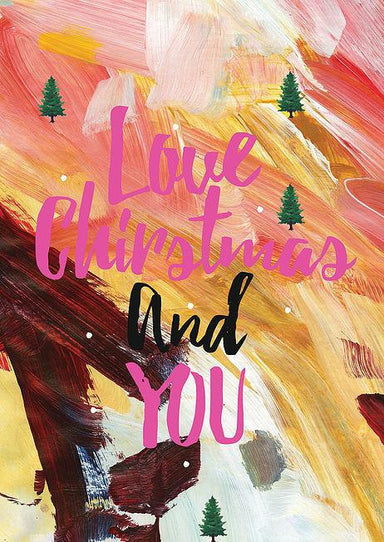 Love Christmas & You Postcard - Postcards - The Paper Happiness - Naiise