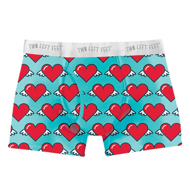 Love Is in the Air Men's Trunk Underwear Two Left Feet