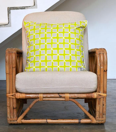 Love Lattice Yellow Pillow Cover - Naiise