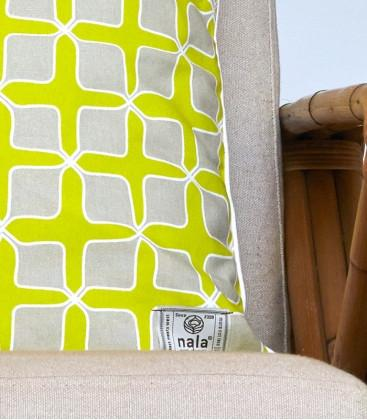 Love Lattice Yellow Pillow Cover - Cushion Covers - Naiise - Naiise