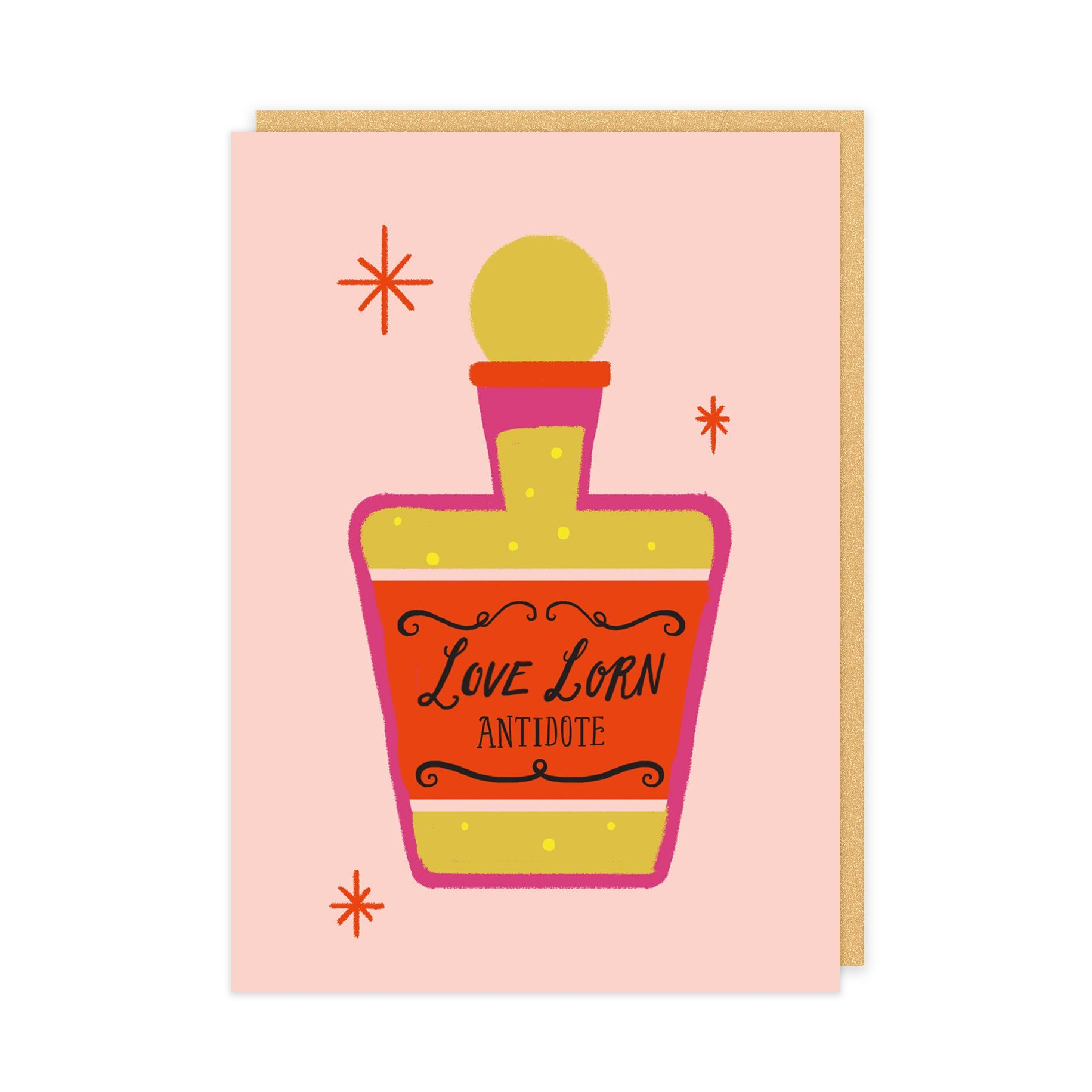 Love Lorn Potion Card - Naiise