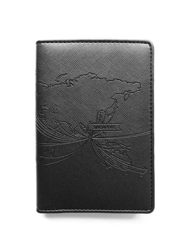 LOVE SG Passport Holders Passport Holders LOVE SG Route Map (Black)
