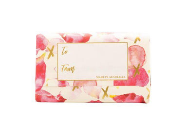 Love You Petals Sweet Pea Fragrance Soap Bar Soaps Wavertree & London