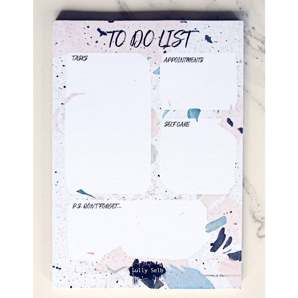 #LSLIFE To-do Notepad - Notepads - Lully Selb - Naiise