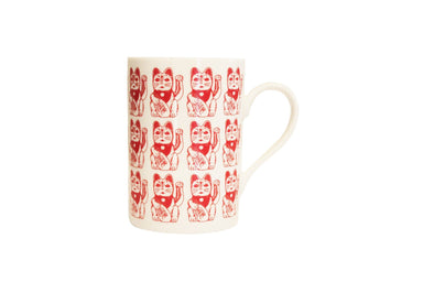 Lucky Cat Mug - Tableware - Pinyin Press - Naiise