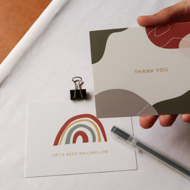 Thank You Card - Postcards - Nails & Good Company - Naiise