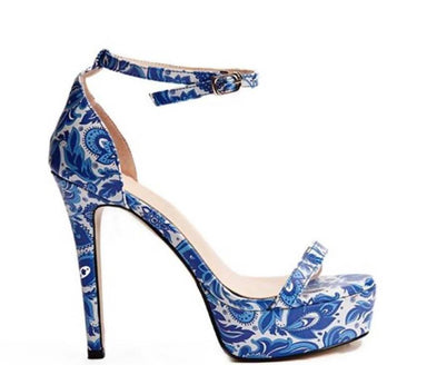 Sierra Batik High Heels - Women Shoes - Glamorbit - Naiise