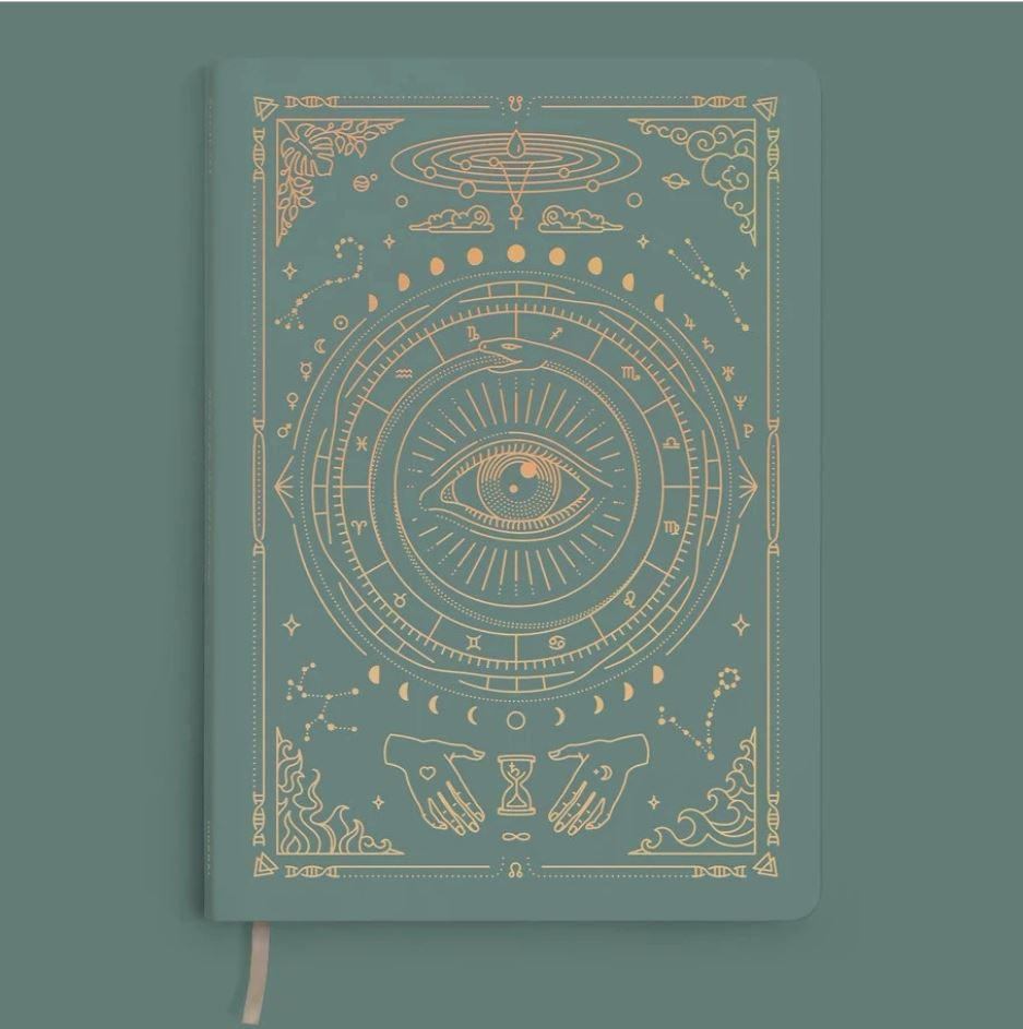 Magic of I Vegan Leather Journal - Teal Notebooks Man & Mage