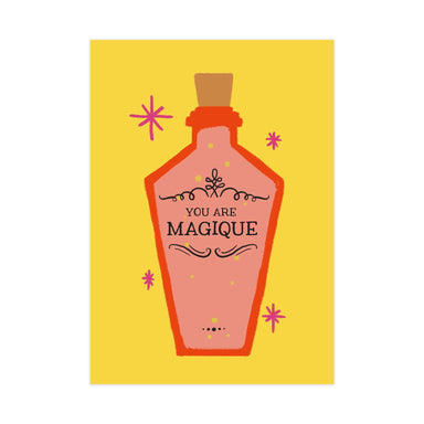 Magique Potion Card - Generic Greeting Cards - Pine on Paper - Naiise