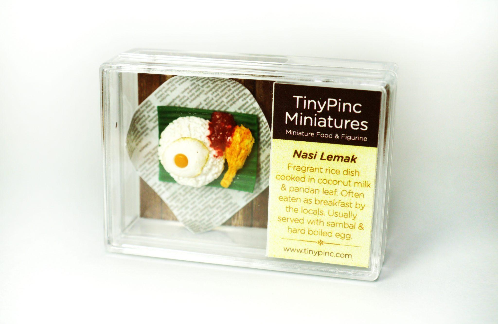 Magnet Box - Nasi Lemak - Local Magnets - TinyPinc Miniatures - Naiise