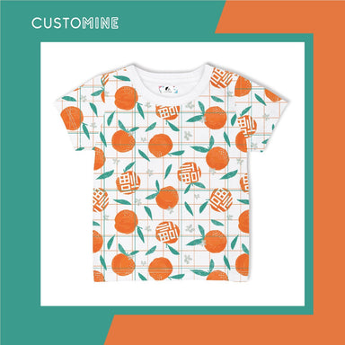Mandarin Kid's T-Shirt (Pre-Order) - Kids Clothing - CUSTOMINE - Naiise