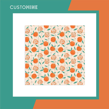 Mandarin Orange Soft Scarf (Pre-Order) - Local Scarves - CUSTOMINE - Naiise