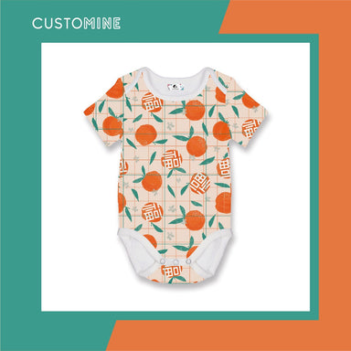 Mandarin Romper (Pre-Order) - Local Baby Clothing - CUSTOMINE - Naiise