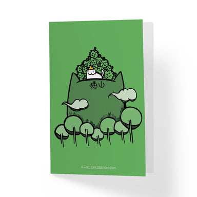 Mao Shan Wang Greeting Card - Generic Greeting Cards - A Wild Exploration - Naiise