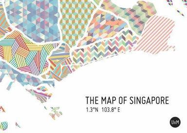 Map Of Singapore - Patterned - Local Prints - URBAN X MAPS - Naiise