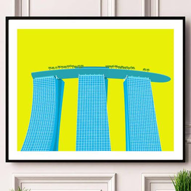 Marina Bay Sands Print - New Arrivals - Big Red Chilli - Naiise