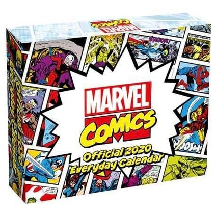 Marvel Comics 2020 Desk Block Calendar Calendars Danilo