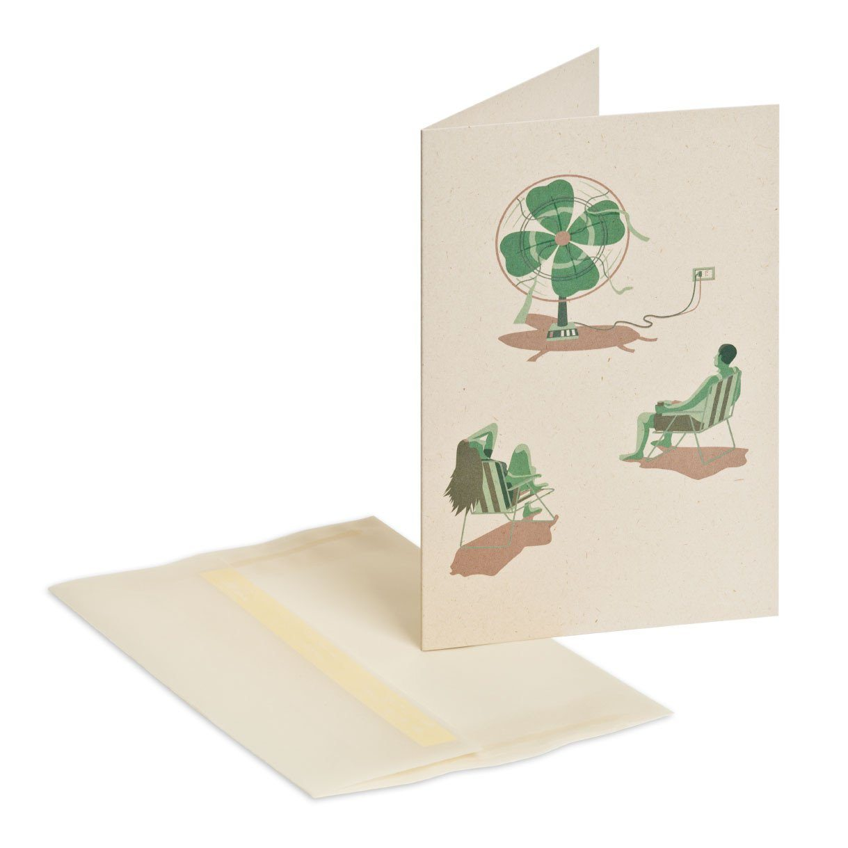 May luck be with you Greeting Card - Naiise