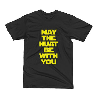May The Huat Be With You Kids Crew Neck S-Sleeve T-shirt (Pre-Order) - Kids Clothing - Wet Tee Shirt - Naiise