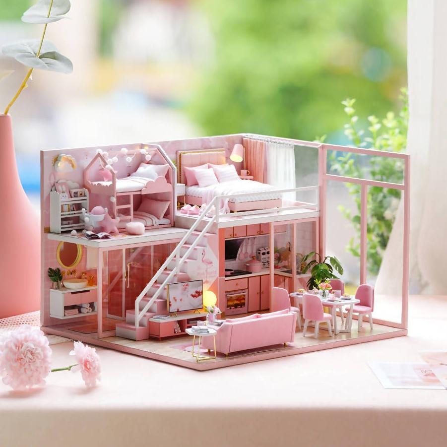 Meeting Your Sweet Dollhouse - DIY Crafts - Blue Stone Craft - Naiise
