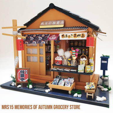 Memories of Autumn Grocery Store DIY Crafts Blue Stone Craft Memories of Autumn Grocery Store